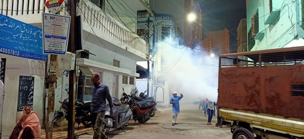 Hyderabad's battle against mosquitoes and dengue – Effective